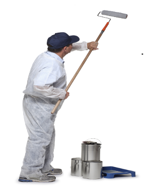 Young Man Painting On A Canvas Stock Photo 18154171 : Shutterstock